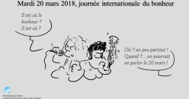 20 mars 2018 : journée internationale du bonheur