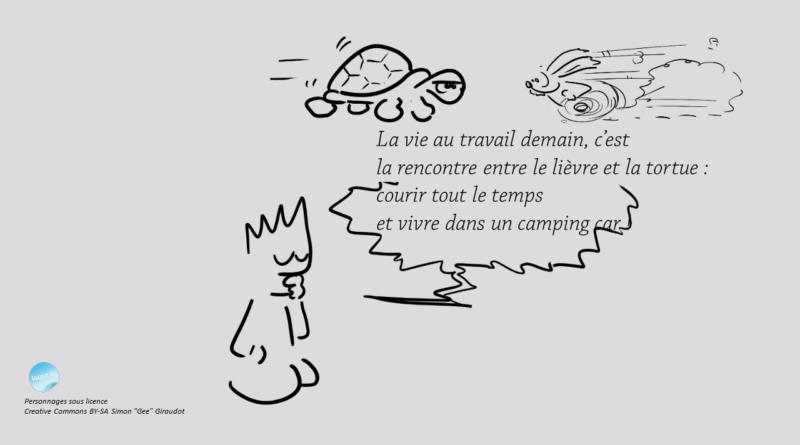 Humour le travail demain - laqvt.fr QVT Qualité de Vie au Travail