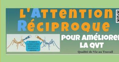 Attention Réciproque Infographie reconnaissance coopération RSE laqvt.fr Qualité de Vie au Travail