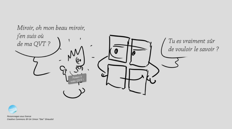 ajustement qvt miroirsocial humour laqvt.fr